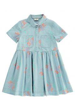 Chambray-Kleid Orchidées(112328499)