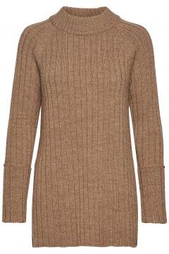 Wool Chunky Rib Long Sweater Strickpullover Braun CATHRINE HAMMEL(114152642)