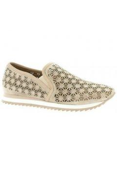 Chaussures Femme Plus Baskets cuir velours(98529678)
