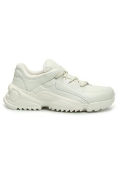 Salvatore Ferragamo Kadın Beyaz Deri Sneaker 36 EU(127752651)