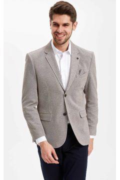 DeFacto Erkek Mendil Detaylı Modern Fit Blazer Ceket(108987186)