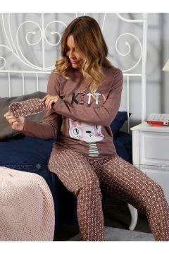 Dusty Rose - Crew neck - Multi - Pyjama - Elitol Pijama(110318198)