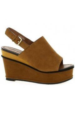 Sandales Elvio Zanon Nu pieds cuir velours(127909439)