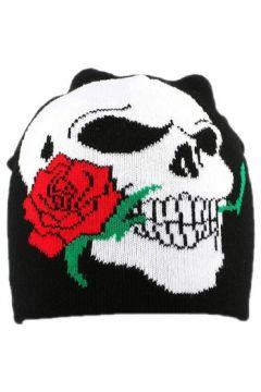 Bonnet Divers Bonnet Biker Noir avec rose(115449014)