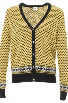 Jacquard-Strickjacke Georges - Damenkollektion -(117291855)