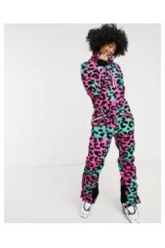 OOSC - Tuta da sci leopardata rosa(120390699)