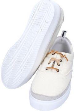 Baskets Bark sneakers blanc textile daim AG585(88469555)