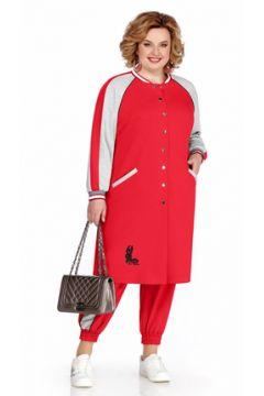 Спортивный костюм Pretty 1043 красный(117356033)