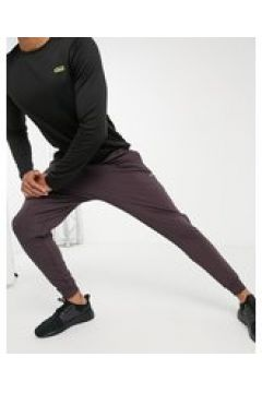 ASOS 4505 - Joggers skinny da allenamento in tessuto quick dry marroni-Marrone(122834473)