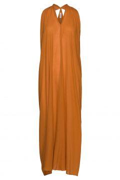 Rodebjer Summer Sheer Maxikleid Partykleid Orange RODEBJER(116612353)