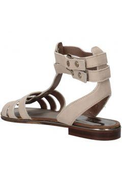 Sandales Carmens Padova sandales gris cuir suédé AF648(115393394)