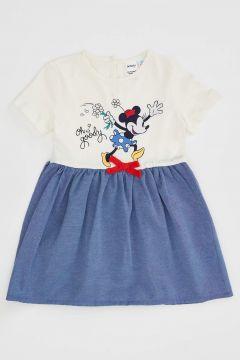 DeFacto Kız Bebek Mickey Mouse Lisanslı Elbise(119062170)