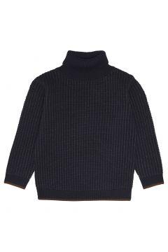 Rollkragenpullover aus extra feiner Wolle(121928502)