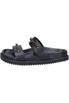 Sandales Twin Set TWIN-SET sandales noir cuir BT449(115446830)