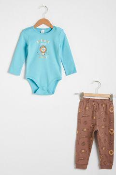 Bebek Erkek Bebek Baskılı Pijama Takımı(127030313)