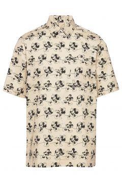 Thor Shirt Kurzärmliges Hemd Beige WOOD WOOD(115535087)