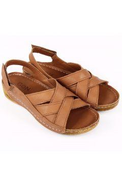 G.Ö.N Taba Antik Kadın Sandalet(110958796)