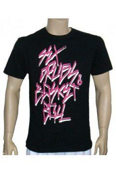 T-shirt K1x - T-shirt Sex, Drugs and Basketball Tee - Noir(98747721)