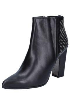 Chaussures escarpins Roberto Botticelli escarpins noir cuir clous BY558(88524145)