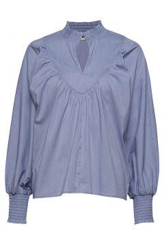 Blouse Bluse Langärmlig Blau SOFIE SCHNOOR(114157860)