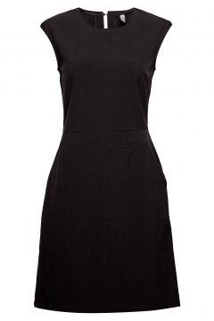 Cuariane Dress Kurzes Kleid Schwarz CULTURE(119161223)