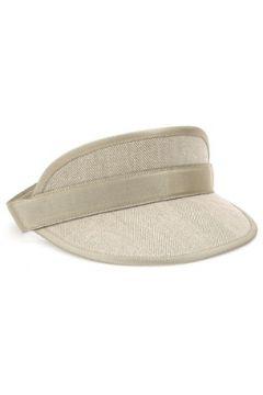 Inverni Kadın Bej Kanvas Şapka Gri EU(114438721)