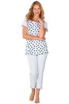 Bomullspyjamas med kort ärm(112297233)