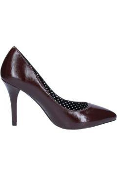 Chaussures escarpins Fornarina escarpins bordeaux cuir brillant BX89(115442483)