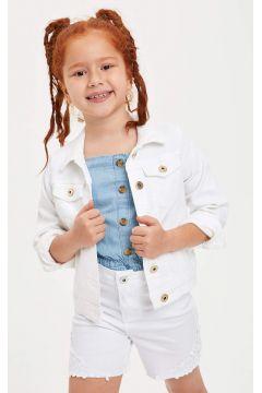 DeFacto Kız Çocuk Regular Fit Jean Ceket(119060506)