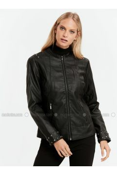 Black - Puffer Jackets - LC WAIKIKI(110318589)