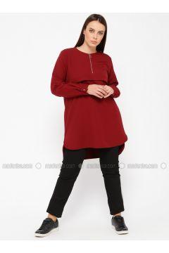 Black - Plus Size Pants - RMG(110323490)