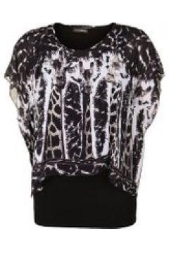 Bluse mit Überwurf Doris Streich Bast(111503975)