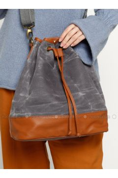 Gray - Shoulder Bags - Ottobags(110318556)