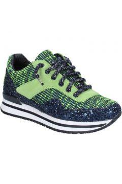 Chaussures 2 Star Gold GOLD sneakers vert textile bleu glitter BX34(115442470)