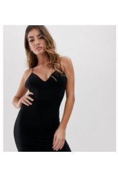 Fashionkilla - Vestitino nero con spalline sottili(120330933)