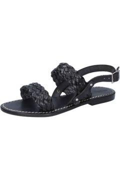 Sandales Silvia Rossini sandales noir cuir BZ581(127901874)