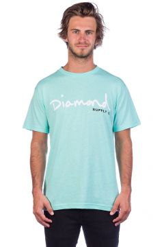 Diamond OG Script T-Shirt blauw(85172016)