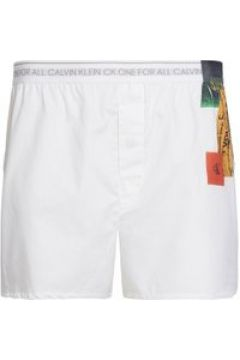 Calvin Klein Newspaper Boxers - White/Newspaper(109091099)