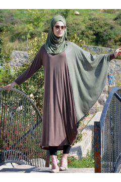 Robe Henna Elısa Vert / Marron(108581512)