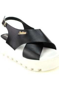 Sandales Cendriyon Compensées Noir Chaussures Femme(115420291)