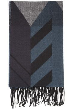 Echarpe Isotoner Echarpe plaid noir et bleu(115593246)