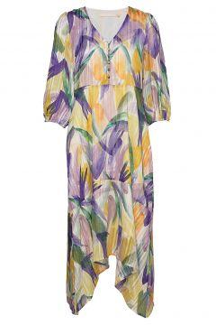 Lemonkb Dress Kleid Knielang Bunt/gemustert KAREN BY SIMONSEN(109010617)