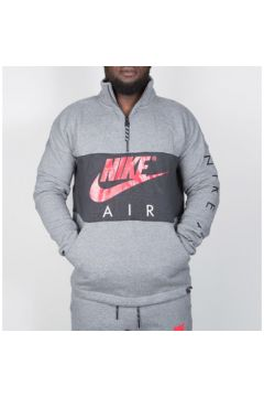 Chemise Nike Nike Air Top Fleece - Carbon Heather / Anthracite / Siren Red(98448393)