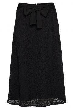 Skirt Langes Kleid Schwarz ROSEMUNDE(116153920)