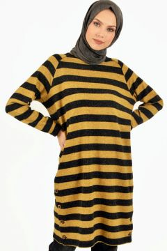 Sweat-shirt PLİSTRE Jaune(119070293)