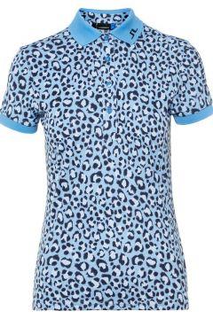 J.LINDEBERG Tour Tech Poloshirt Damen Blau(108902246)