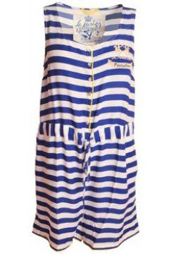 Robe La Martina Combinaison short bleu Portofino pour femme(115387373)