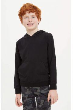 DeFacto Erkek Çocuk Kapüşonlu Kanguru Cepli Basic Sweatshirt(119064914)