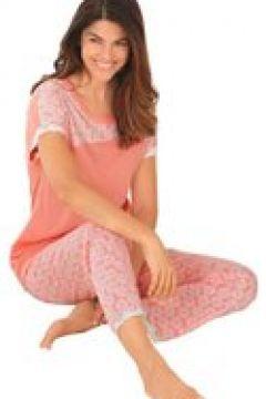 Kortärmad pyjamas i mjuk kvalitet(112297818)