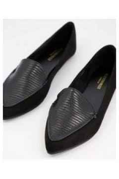 Accessorize - Ballerine a pantofola nere a punta-Nero(124796989)